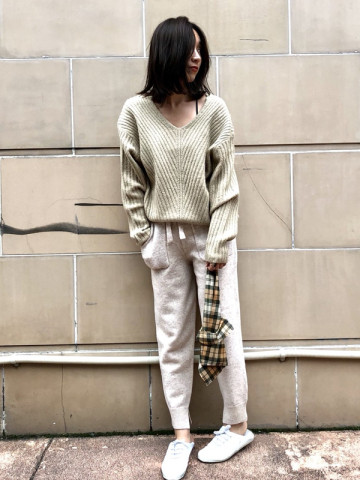 SOLOV:KNIT JAGGER PANTS